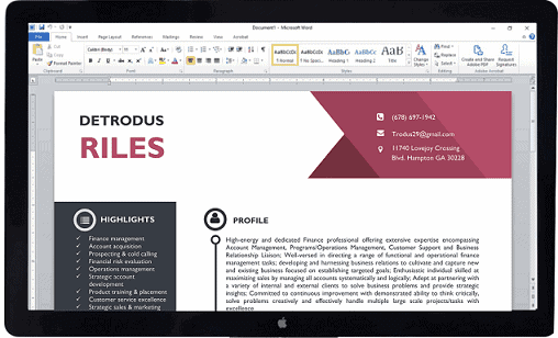 CEOMichael Resume-screen-new