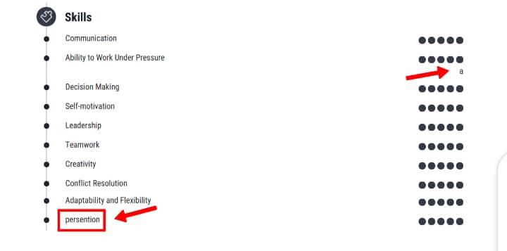 bad resume example 5